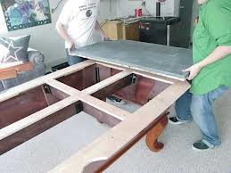 Pool table moves in Des Moines Iowa