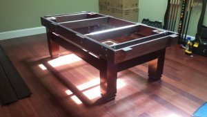 Correctly performing pool table installations, Des Moines Iowa