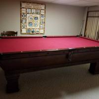 Billard Pool Table-Vintage