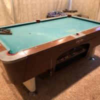 One of a Kind Pool Table