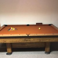 American Legacy Pool table