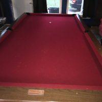 1967 Brunswick VIP Pool Table