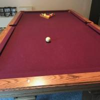 Olhausen Pool Table and Accessories