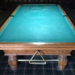 Olhausen Snooker Table and Light