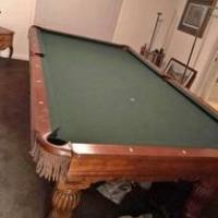 9' Brunswick Pool Table