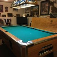7 Foot Slate Pool Table