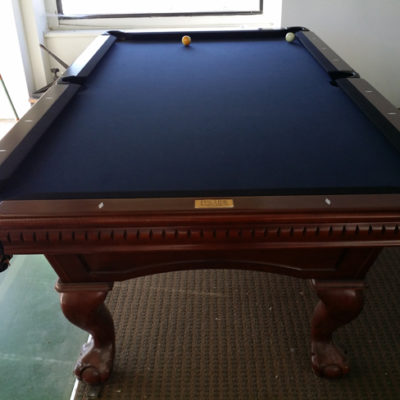FISCHER 8' Table, complete. New condition.